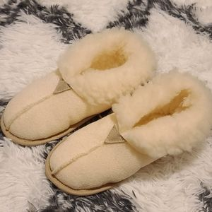 Slippers like ugg white sheep new winter Australia